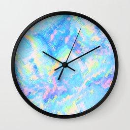 Blue Gemstone Wall Clock