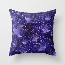 Celestial Dragons Throw Pillow