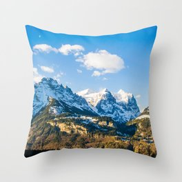Switzerland Wonder Throw Pillow