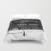 taco Duvet Covers featuring TACO SMELL by A C U L T