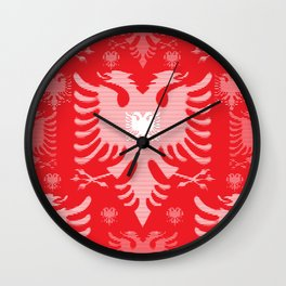 Eagles / Paterns / Creation / Composition II Wall Clock