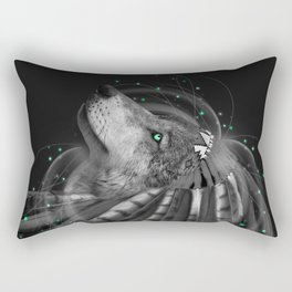 Don't Define the World (Chief of Dreams: Wolf) Tribe Series Rectangular Pillow