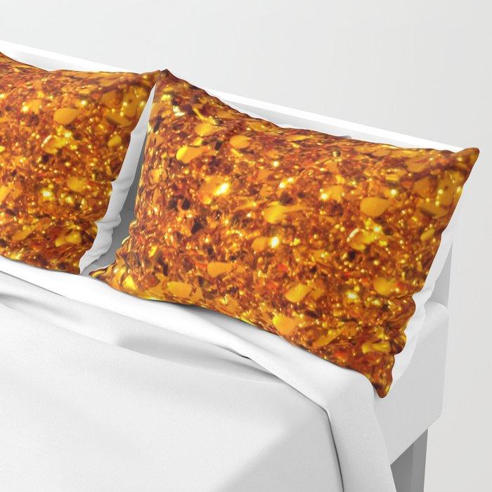 Copper Sparkle Pillow Sham