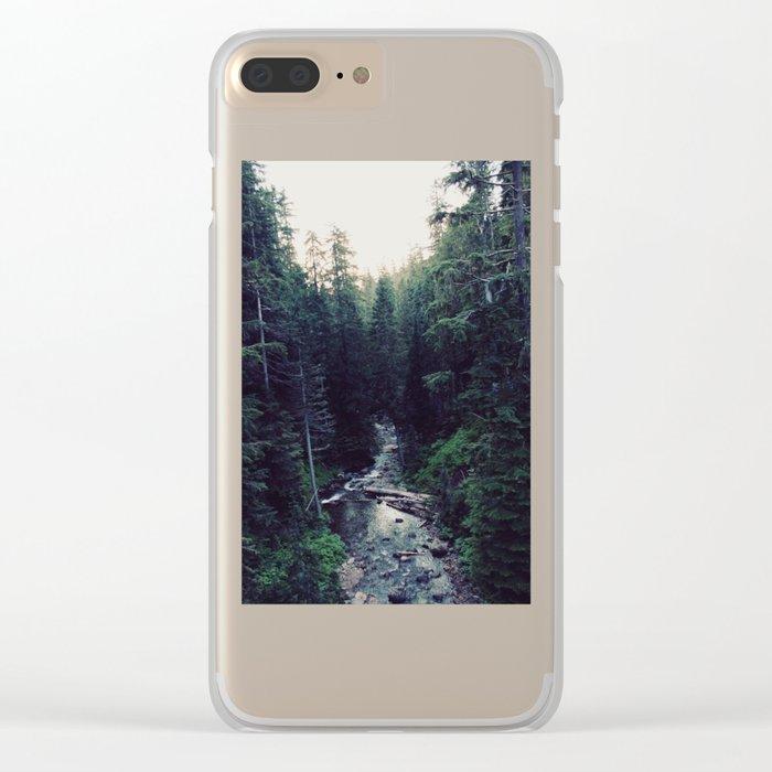 Oregon x Rainier Creek Clear iPhone Case