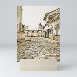 Historical city Mini Art Print