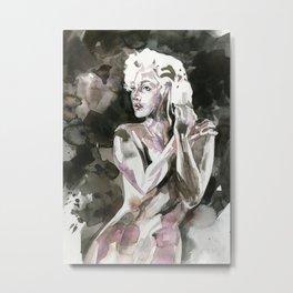Goddess Marilyn 3 by Kathy Morton Stanion Metal Print
