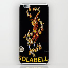 Vintage poster - Isolabella iPhone Skin
