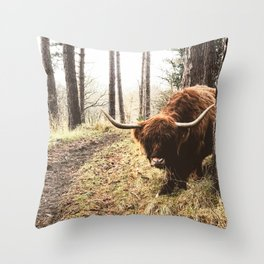 Wander the great outdoors Throw Pillow
