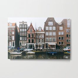 Centrum - Amsterdam, The Netherlands - #10 Metal Print