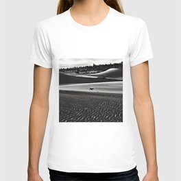 Walking alone through the desert of life T-shirt