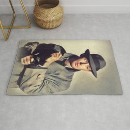 Alan Ladd, Vintage Actor Rug
