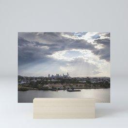 Shine on Brisbane Mini Art Print