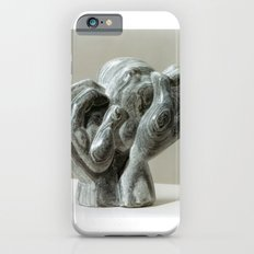 Kneading Hands by Shimon Drory iPhone 6s Slim Case