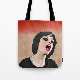 Alice Glass heads in motion WS Tote Bag