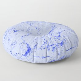 Indigo Marble Floor Pillow