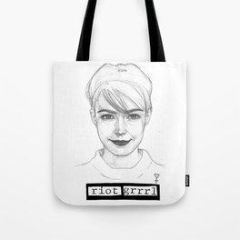KATHLEEN HANNA Tote Bag
