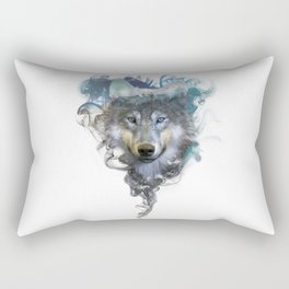 Wolf - Spirit Animal Rectangular Pillow