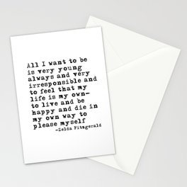 All I want to be Stationery Cards