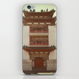 Old Philadelphia Chinatown building - vintage style iPhone Skin