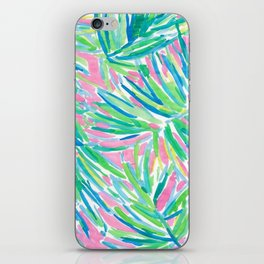 Lily inspired pastel iPhone Skin
