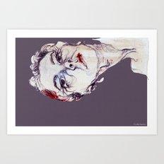 Gasa girl Art Print