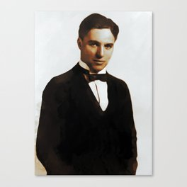 Hollywood Legends, Charlie Chaplin Canvas Print
