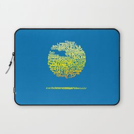 Sun in Different Languages Laptop Sleeve