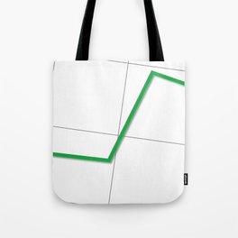 Statistic Up Tote Bag