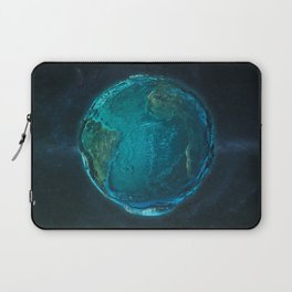Globe: Relief Atlantic Laptop Sleeve