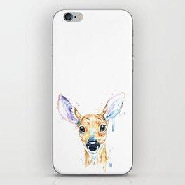 Peekaboo Deer iPhone Skin