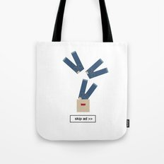 jeans ad Tote Bag