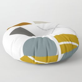Mid West Geometric 03 Floor Pillow