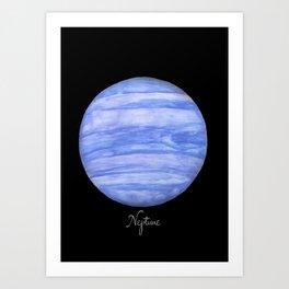 Neptune #2 Art Print