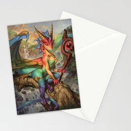 Prism Magic Stationery Cards