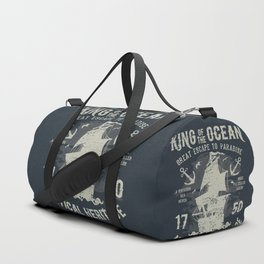 King of the Ocean Duffle Bag