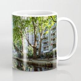 Bridge over the Canal Saint-Martin in Paris Coffee Mug