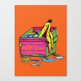 Trash Appeal Canvas Print