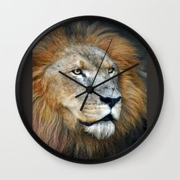 The Lion of Judah Wall Clock