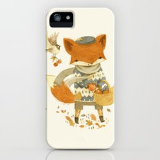 Fritz the Fruit-Foraging Fox iPhone (5, 5s) Slim Case