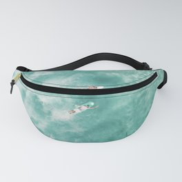 Surfing in the Ocean Fanny Pack