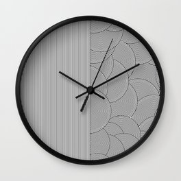 Two Lines Wall Clock