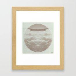 Sky Bound : Two Framed Art Print