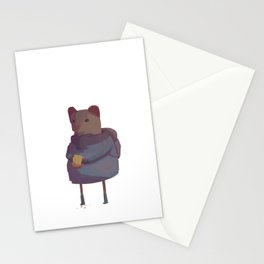 Humanimals - Weasel Stationery Cards