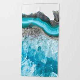 Mermaid Agate Beach Towel
