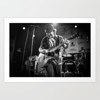 eddie vedder Art Prints featuring Eddie Vedder by Tim Schavitz