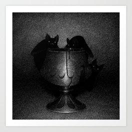 Drawlloween 2016: Bat Art Print