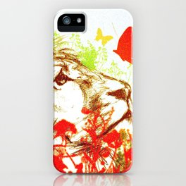 Beast and the Butterflies II iPhone Case