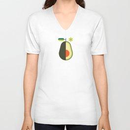Fruit: Avocado Unisex V-Neck