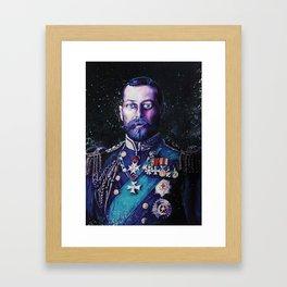 King George V Framed Art Print