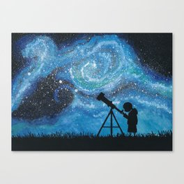 Observing the Universe Canvas Print